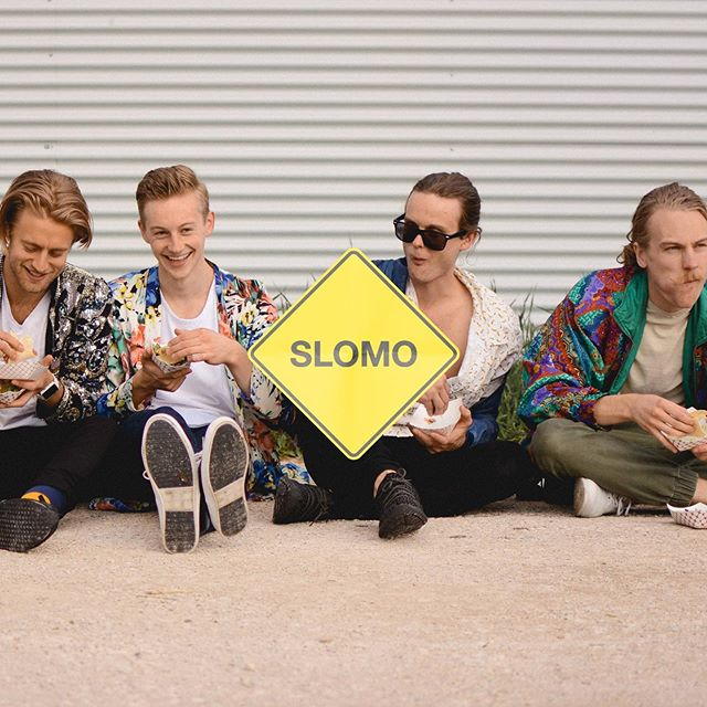 ‪Can we lunch break in #slomo ? #happyfriday #newtunes #linkinbio‬