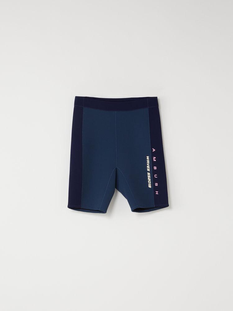 87732e479c AMBUSH Mens Surf Shorts. zz-12111687_NAVY-1.jpg