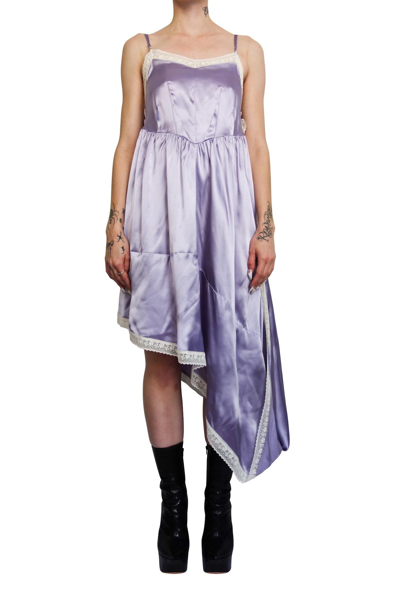 MM6 Maison Margiela Lilac Slip Dress $879 -