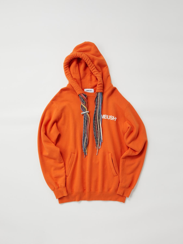 Multi Cord Hoodie, Orange