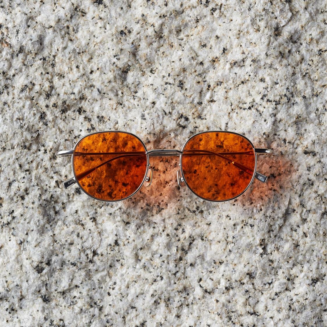 AMBUSH Karlheinz Sunglasses, Orange (660) now $395