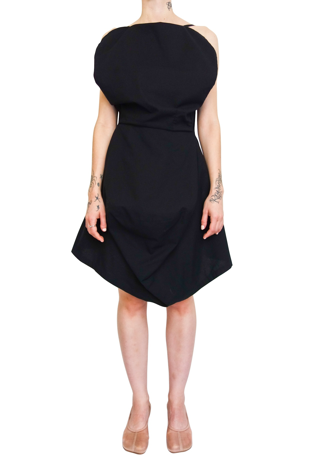 MM6 MAISON MARGIELA Seat Cover Dress (729) now $349