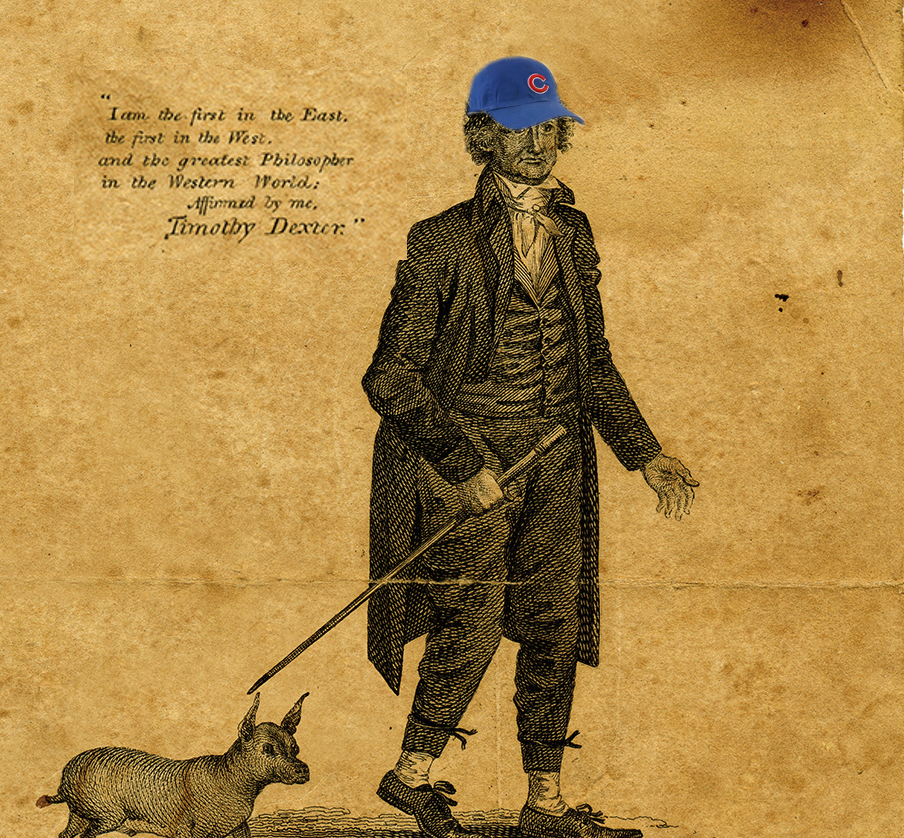 """The great early 19th-century American eccentric, """"Lord"""" Timothy Dexter strolls his demesne pondering a 108 year-old curse."""