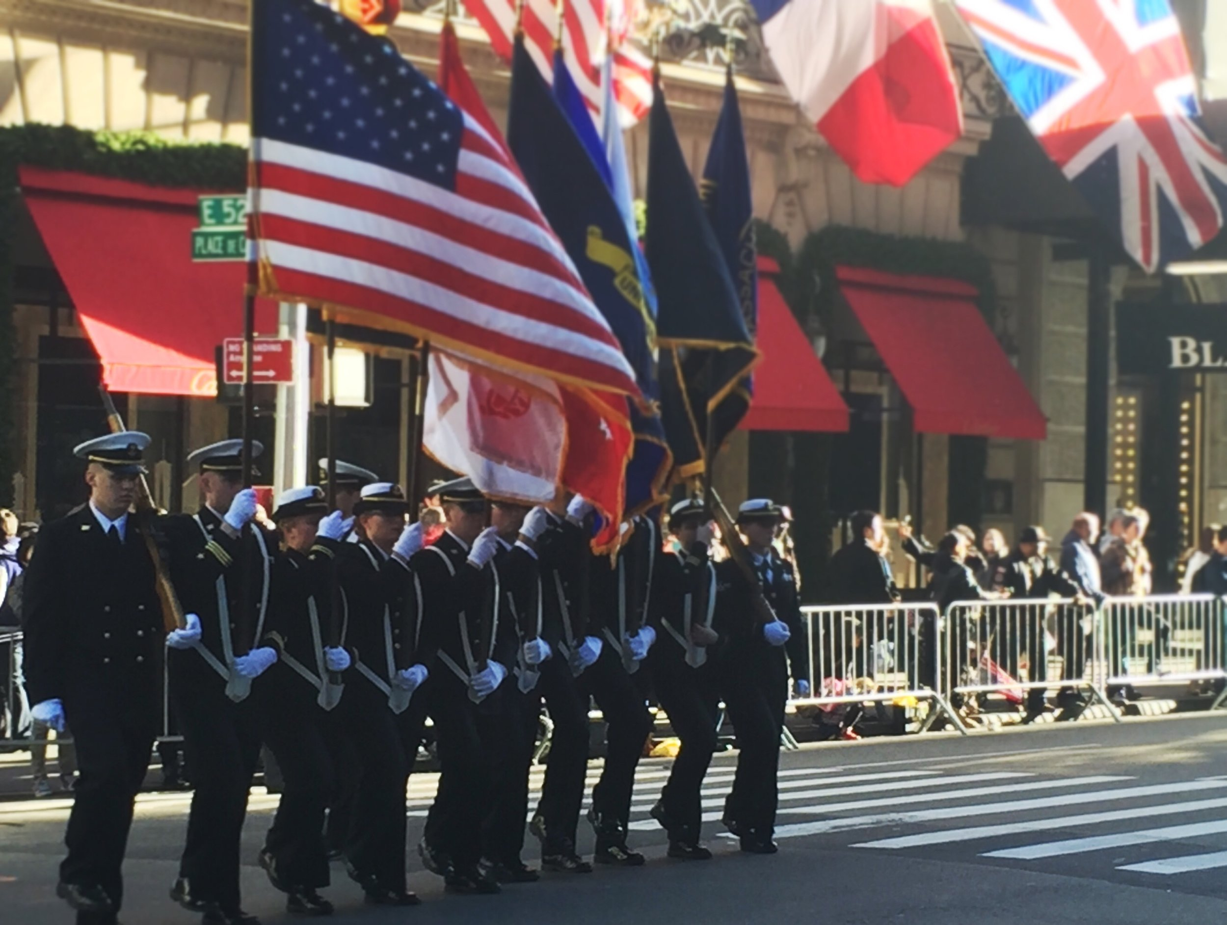 Veteran's Day Parade, 11/11/2016, New York City - Photo by Tim