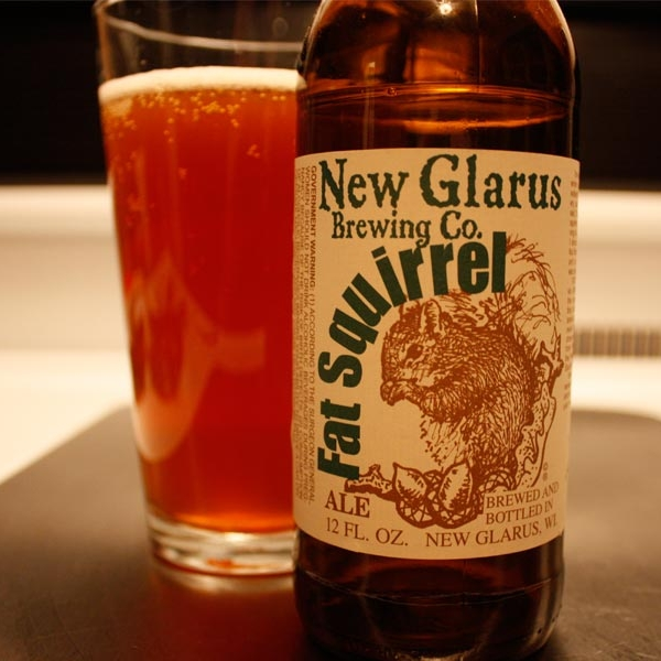 New Glarus Fat Squirrel Ale (Wisconsin only)