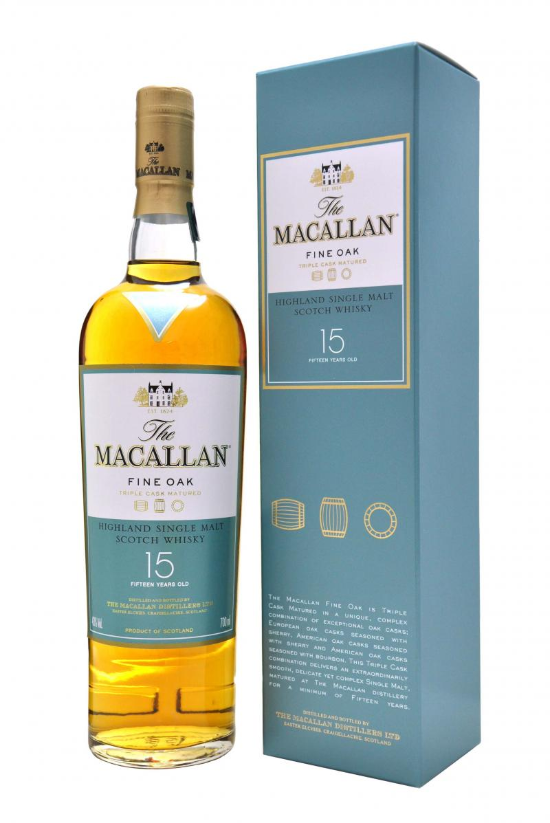 Macallan 15-year Triple Cask Scotch Whisky