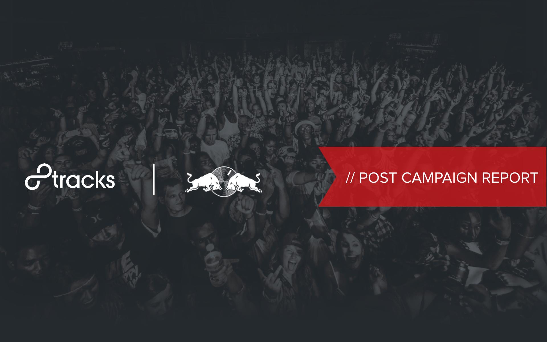 8tracks Campaign Reports   branding/identity, communication design, information design