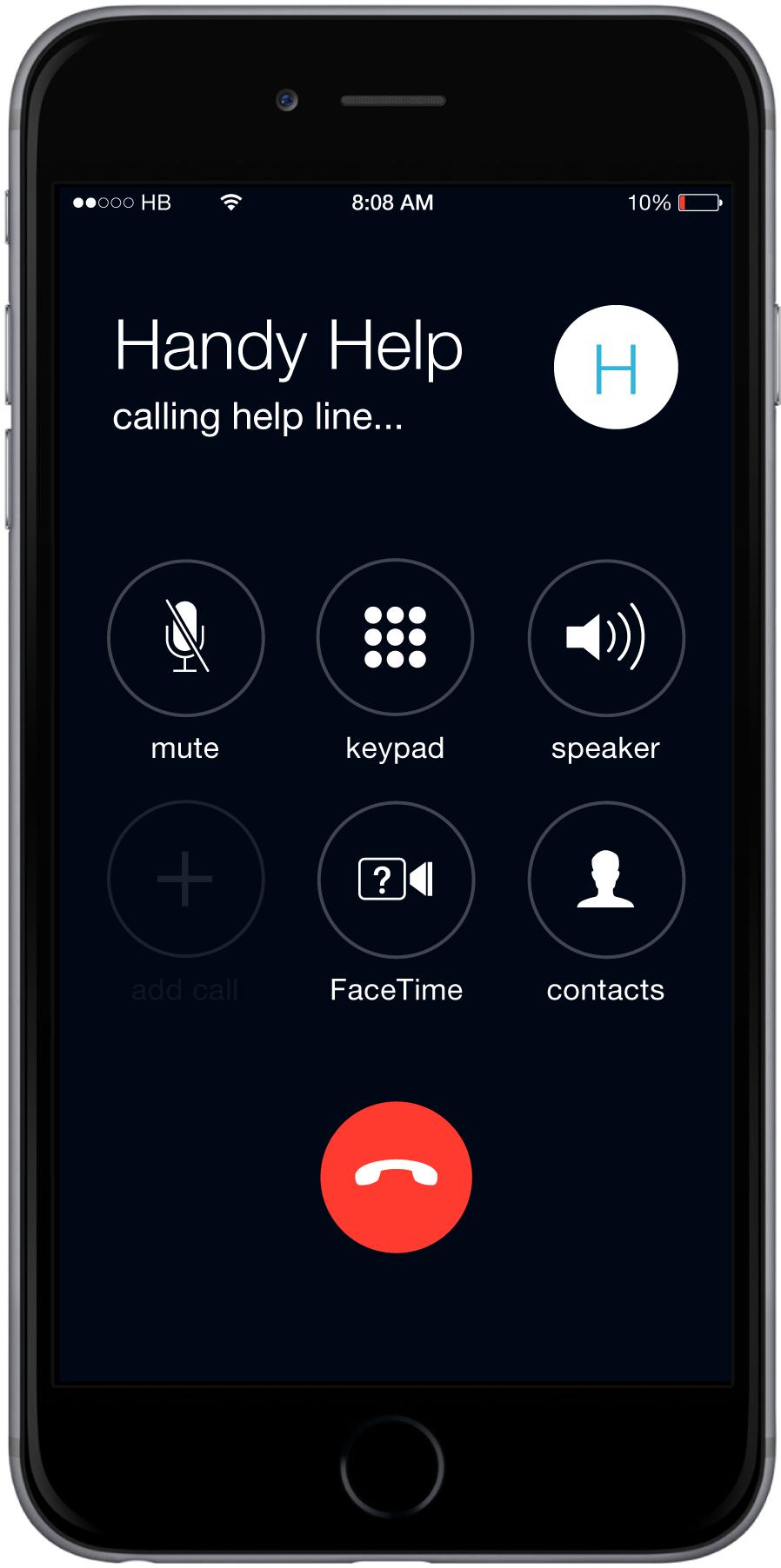Call the Handy Help Line