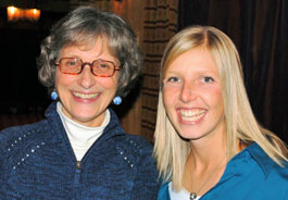 Liz White, director of Animal Alliance Canada, and Dr. Erika Sullivan succeed!