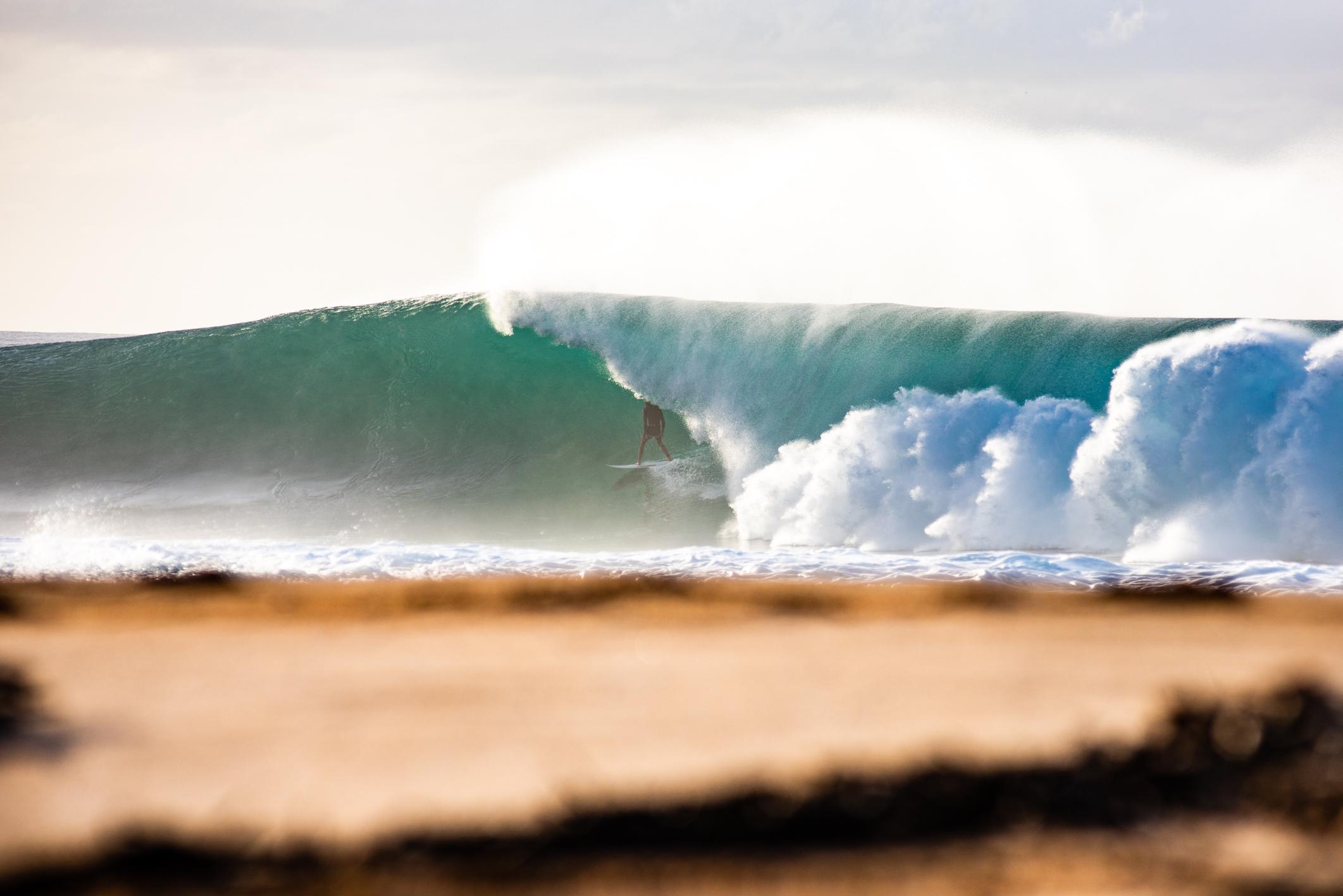 Backdoor beach angle