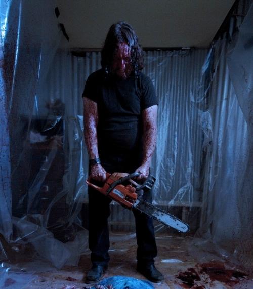 Andreas Sobik as the brutal serial killer Karl
