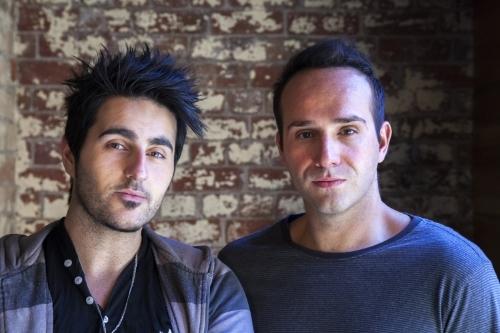 Kostas Ouzas and Nick Kozakis co-directors of PLAGUE