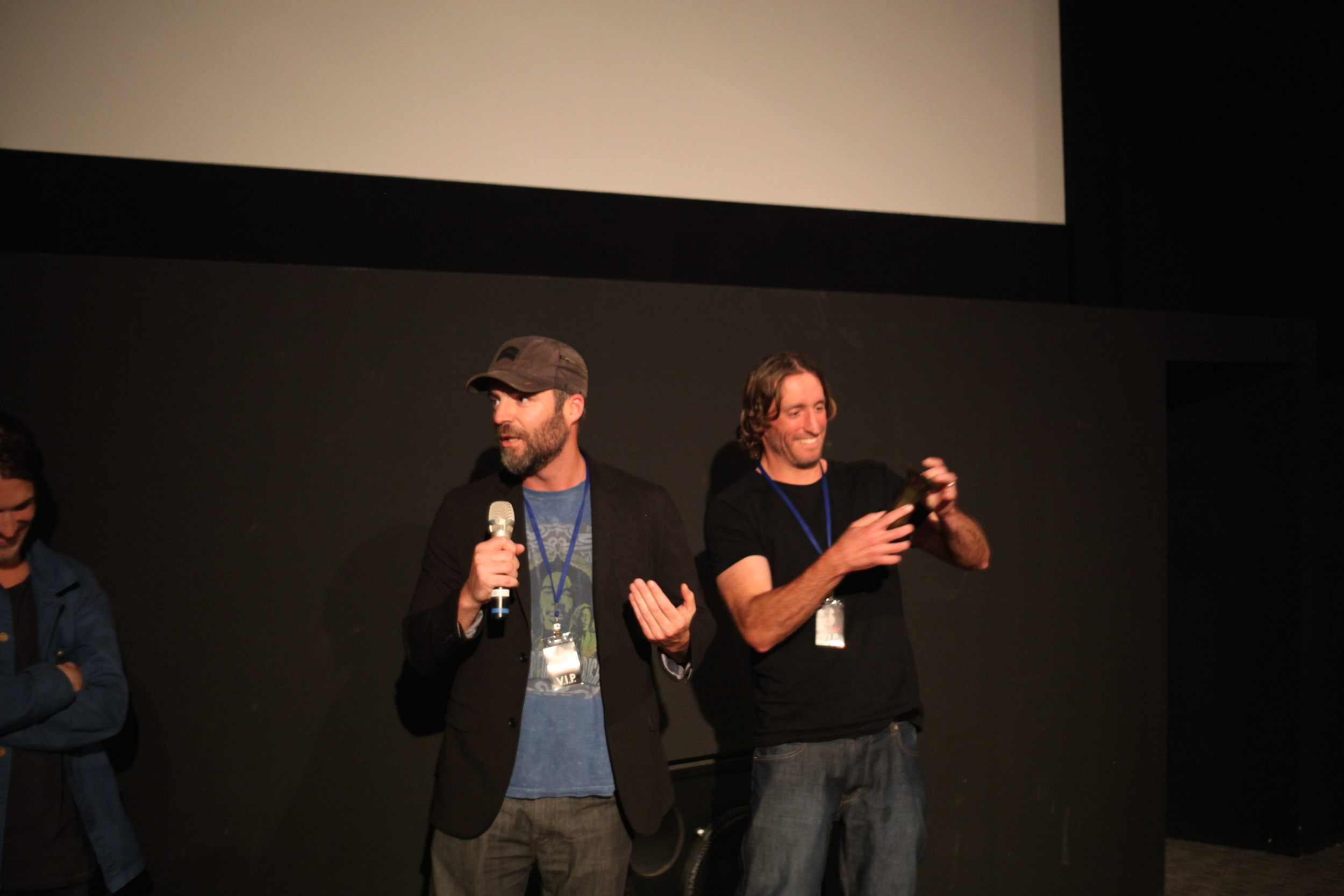Kevin and Michael McCarthy the creative team behind FURY: THE TALES OF RONAN PIERCE - Independent Spirit Award at Fantastic Planet Film Festival.