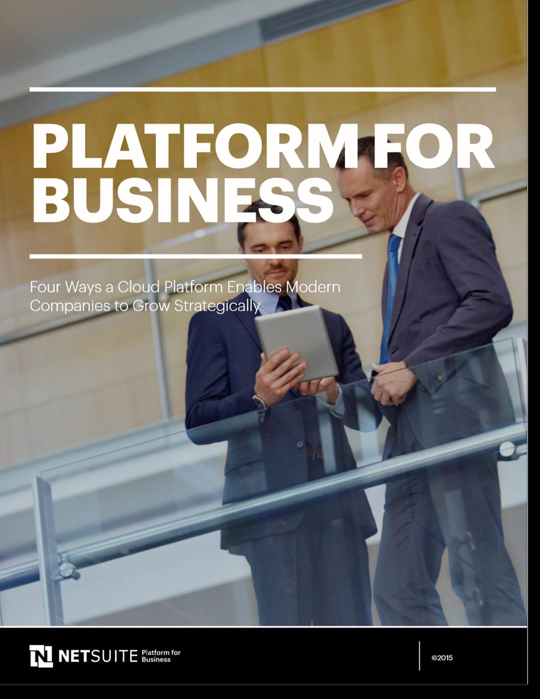 NetSuite PLatform for Business