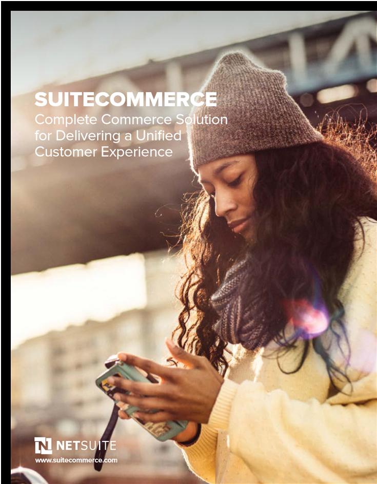 SuiteCommerce Brochure