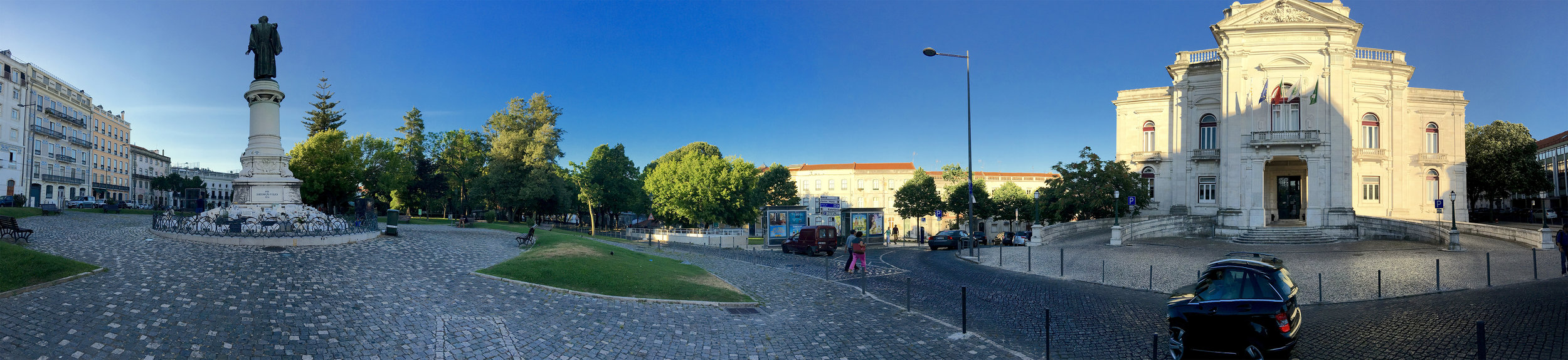 Panoramic View of the Square in Front of the Faculty of Medical Science