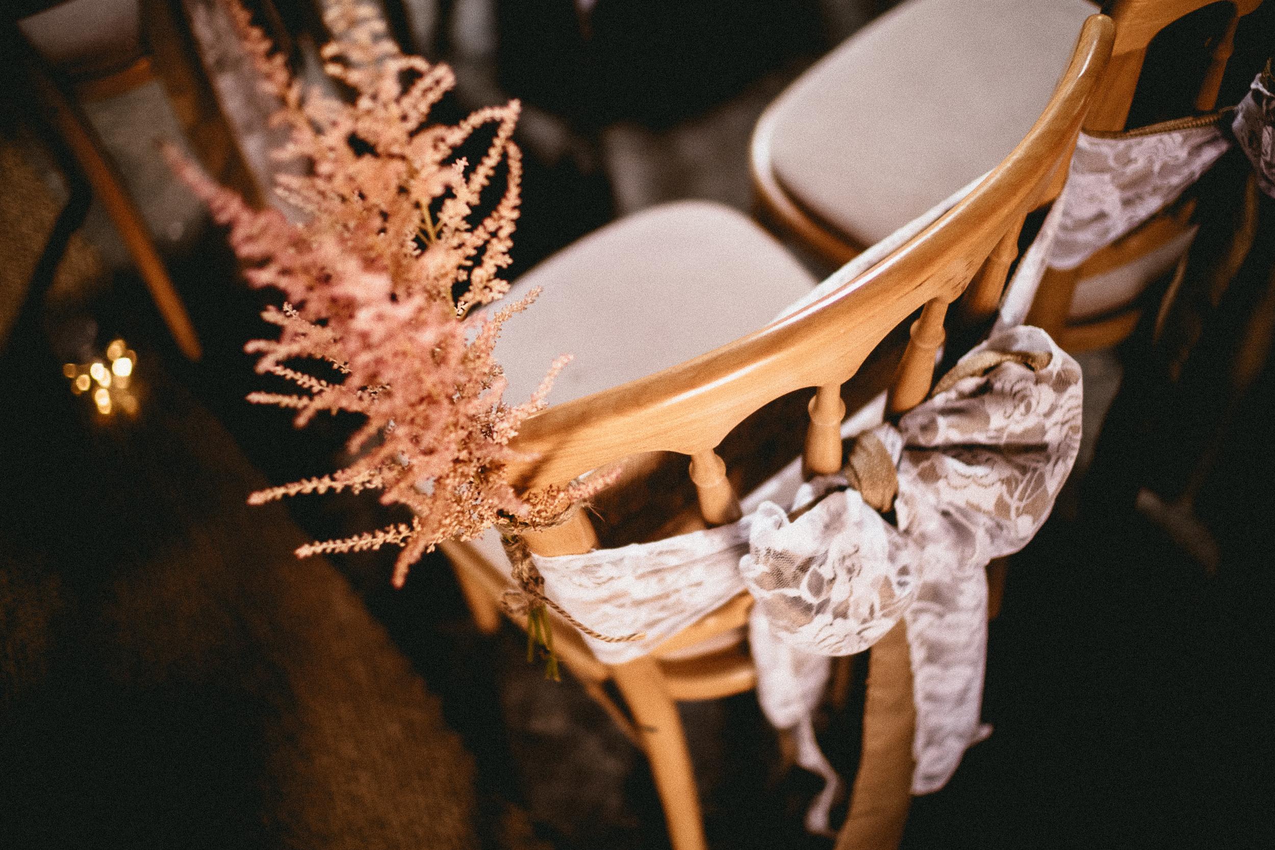 Astilbe Chair Decor