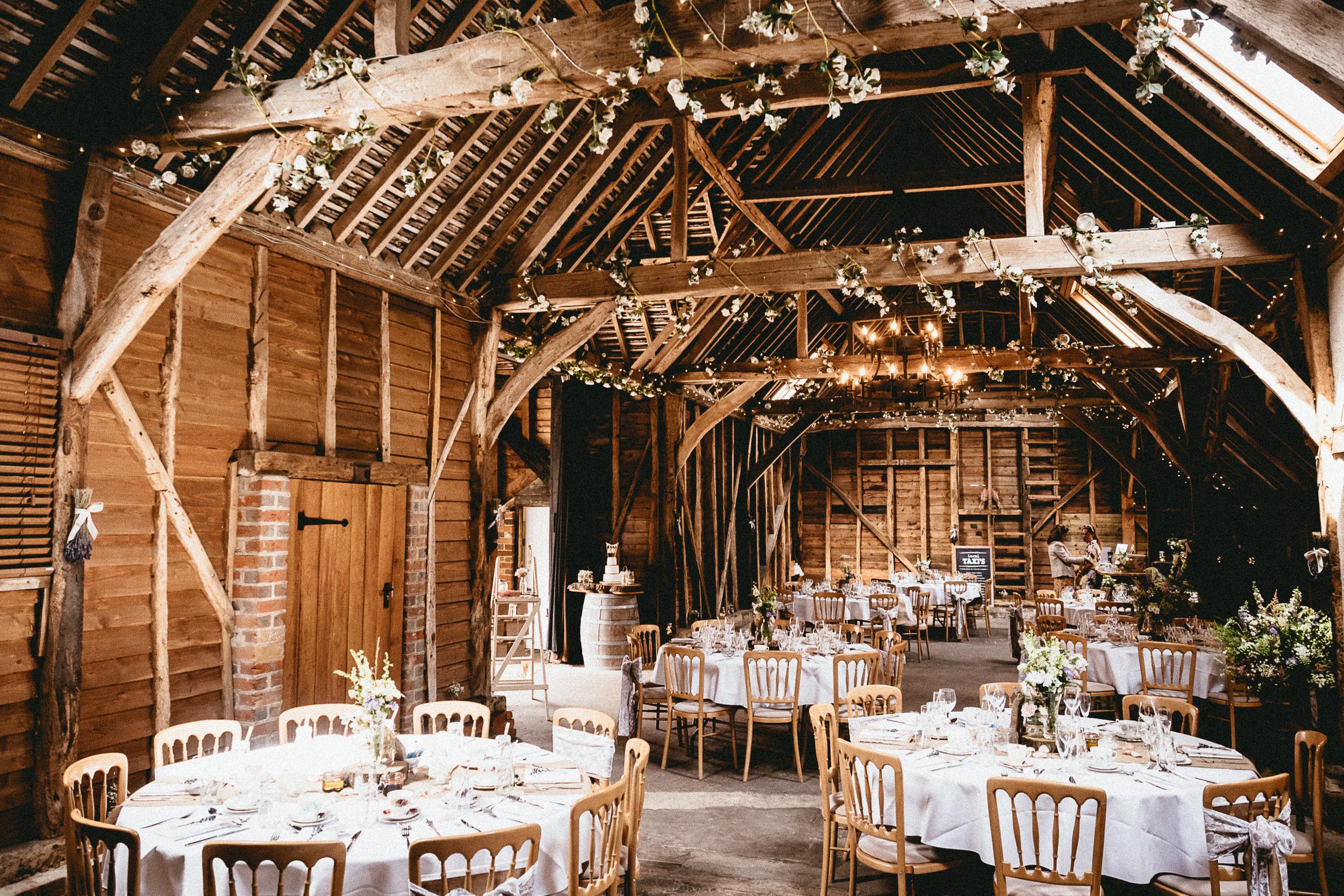 Berkshire Barn Wedding