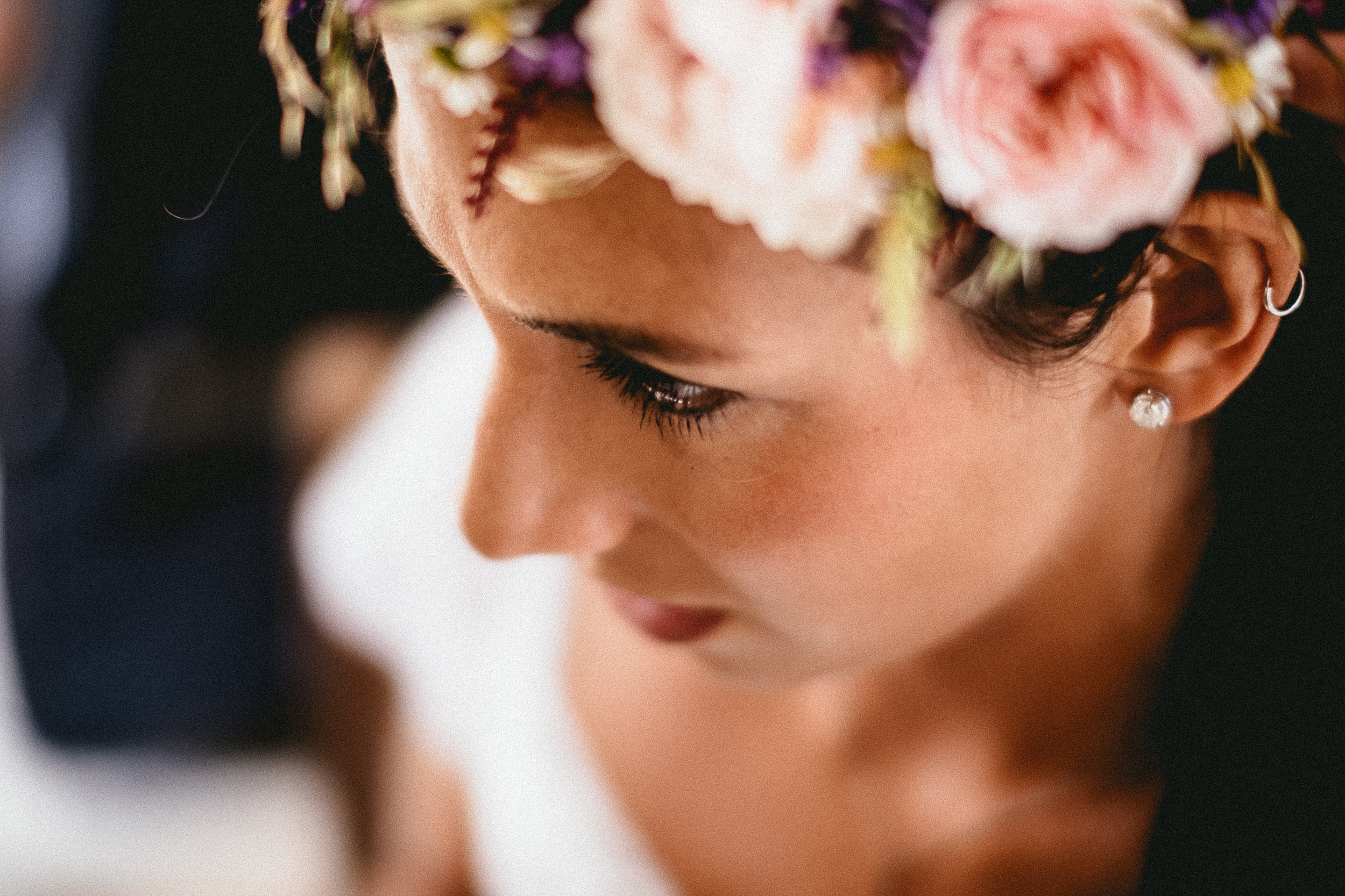 Make up Claire Hanson | Floral Crown by Foxgloves and Roses