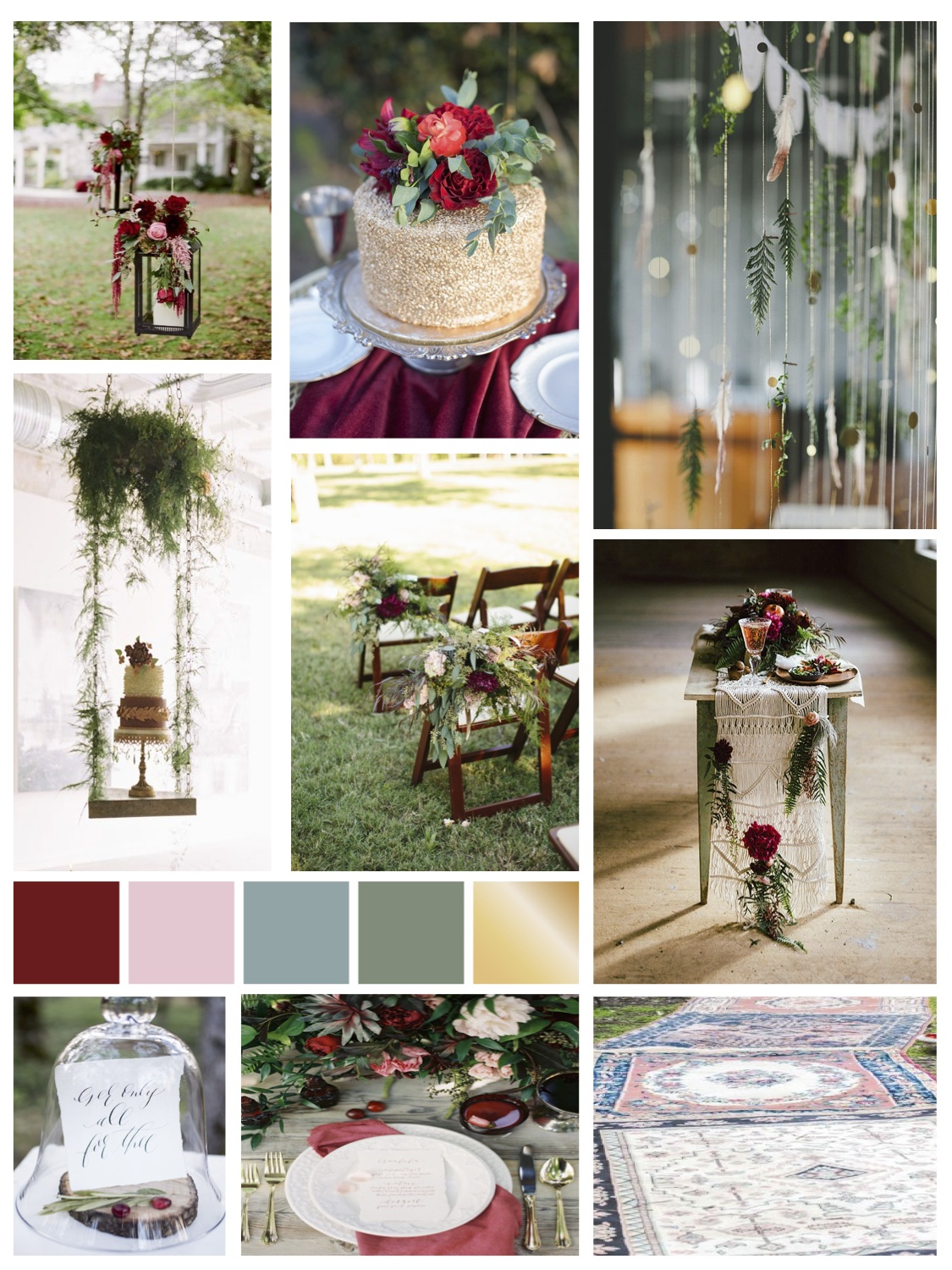 Enchanted Forest Inspiration Board