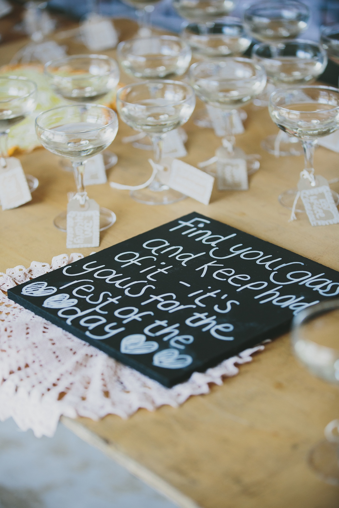 Champagne table by Vanilla Rose Weddings Image Credit: McKinley Rodgers Photography