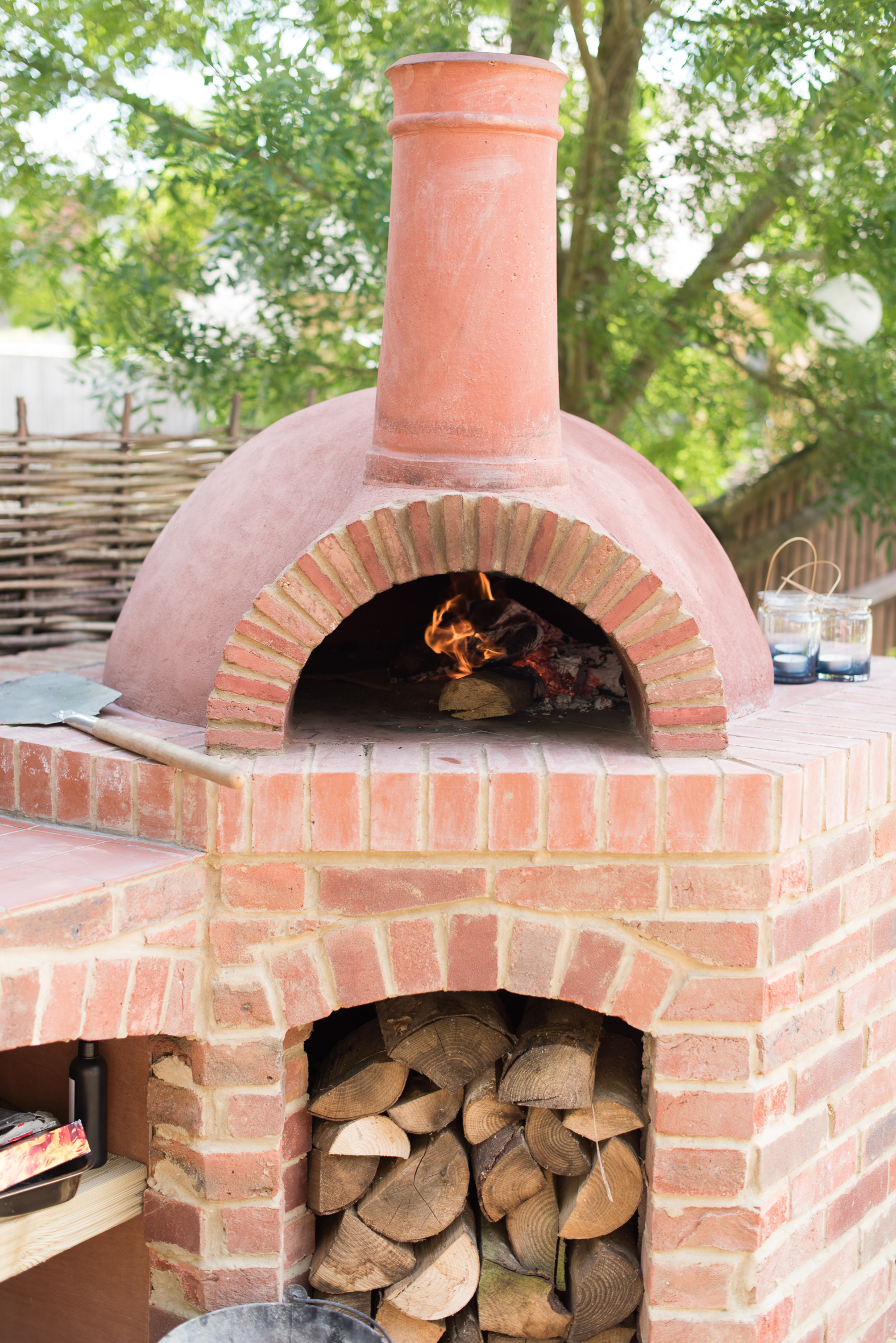 Garden Wood Fired Pizza Oven