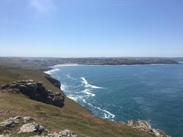 Polzeath Cornwall Coastline