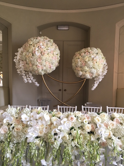 Paula Rooney Flowers Aynhoe Park Vanilla Rose Wedding Planner