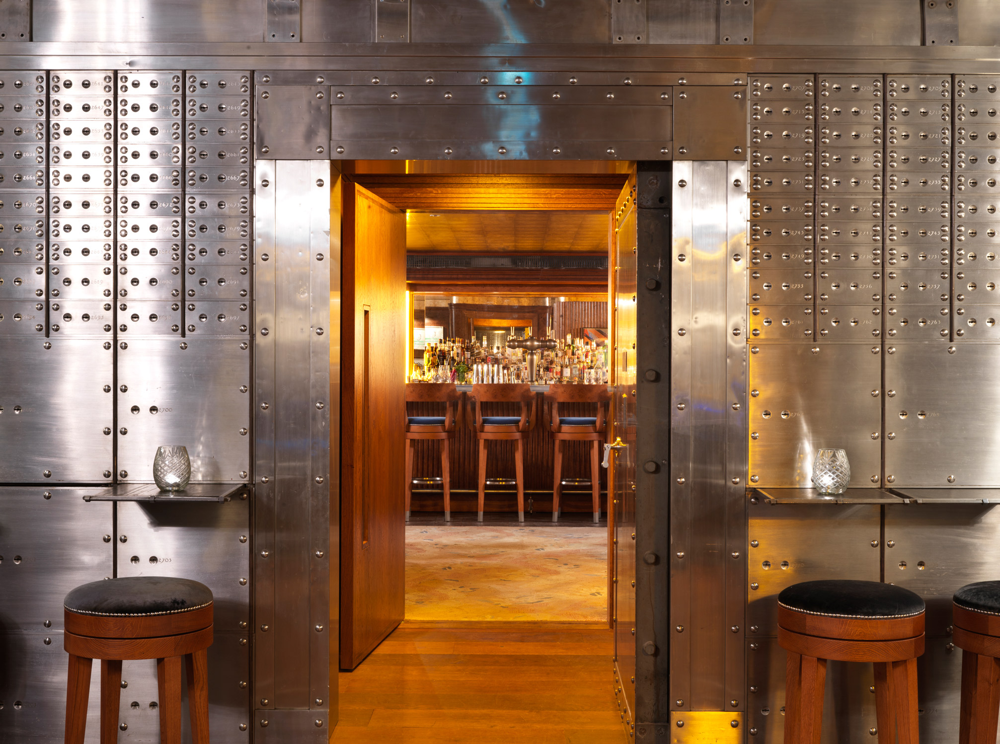 The Vaults Bar at The Ned London