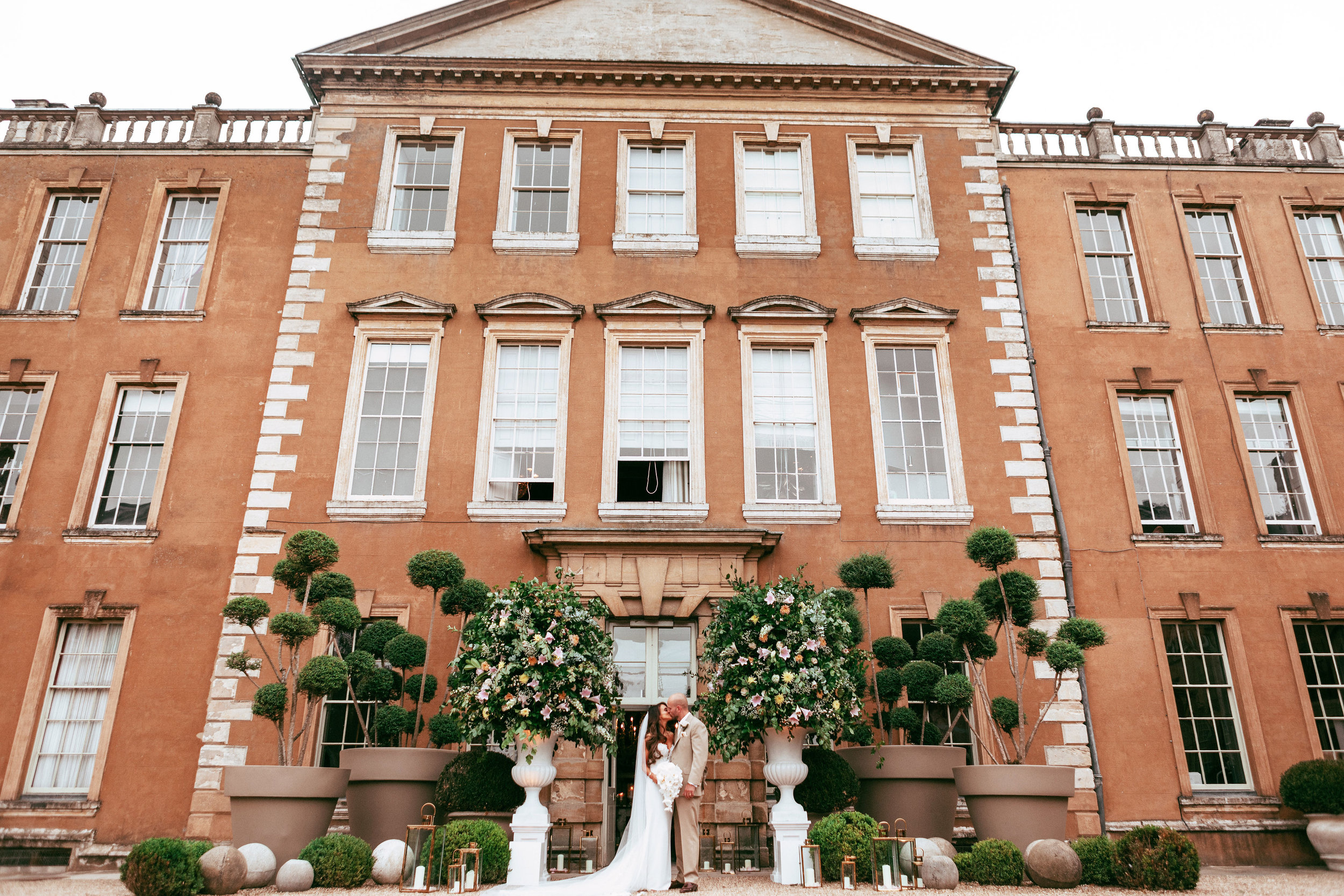 Aynhoe Park Wedding by Vanilla Rose Weddings