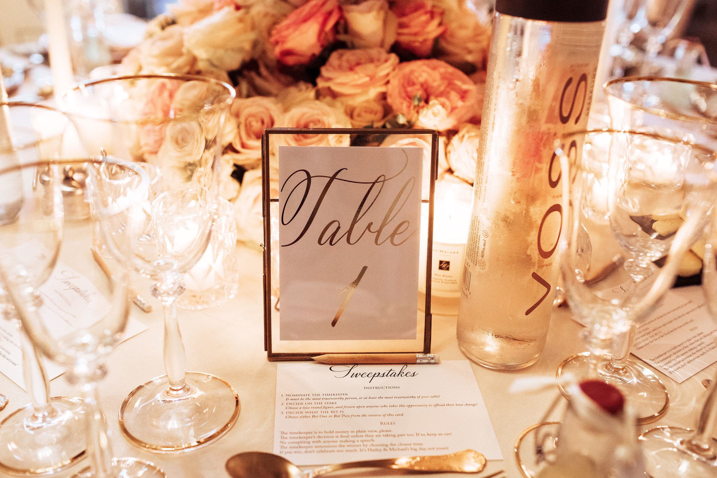 Aynhoe Park Wedding by Vanilla Rose Weddings