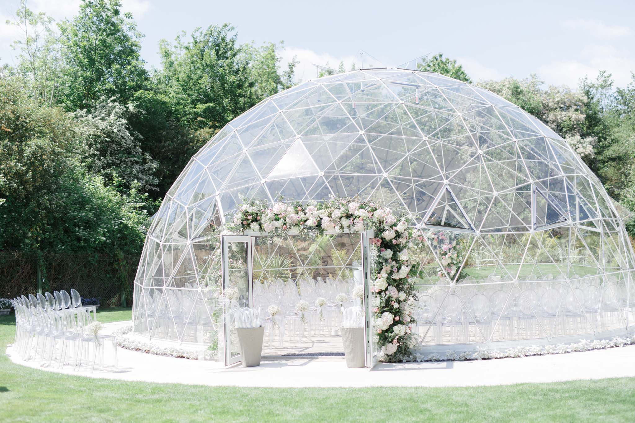 Geo Dome Wedding Ceremony in Kent