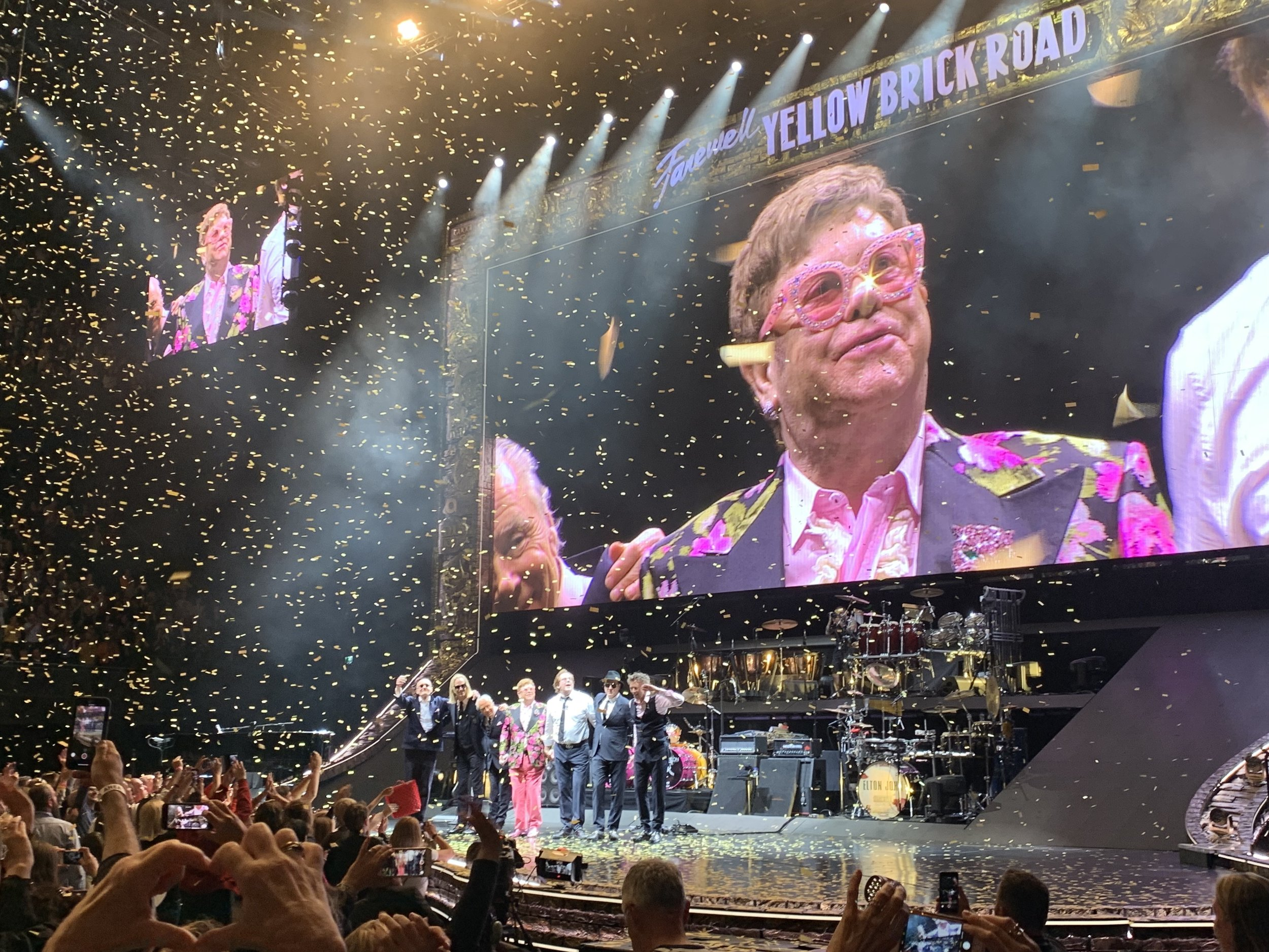 Elton John Ziggo Dome Amsterdam - Vanilla Rose Weddings Monthly Round Up