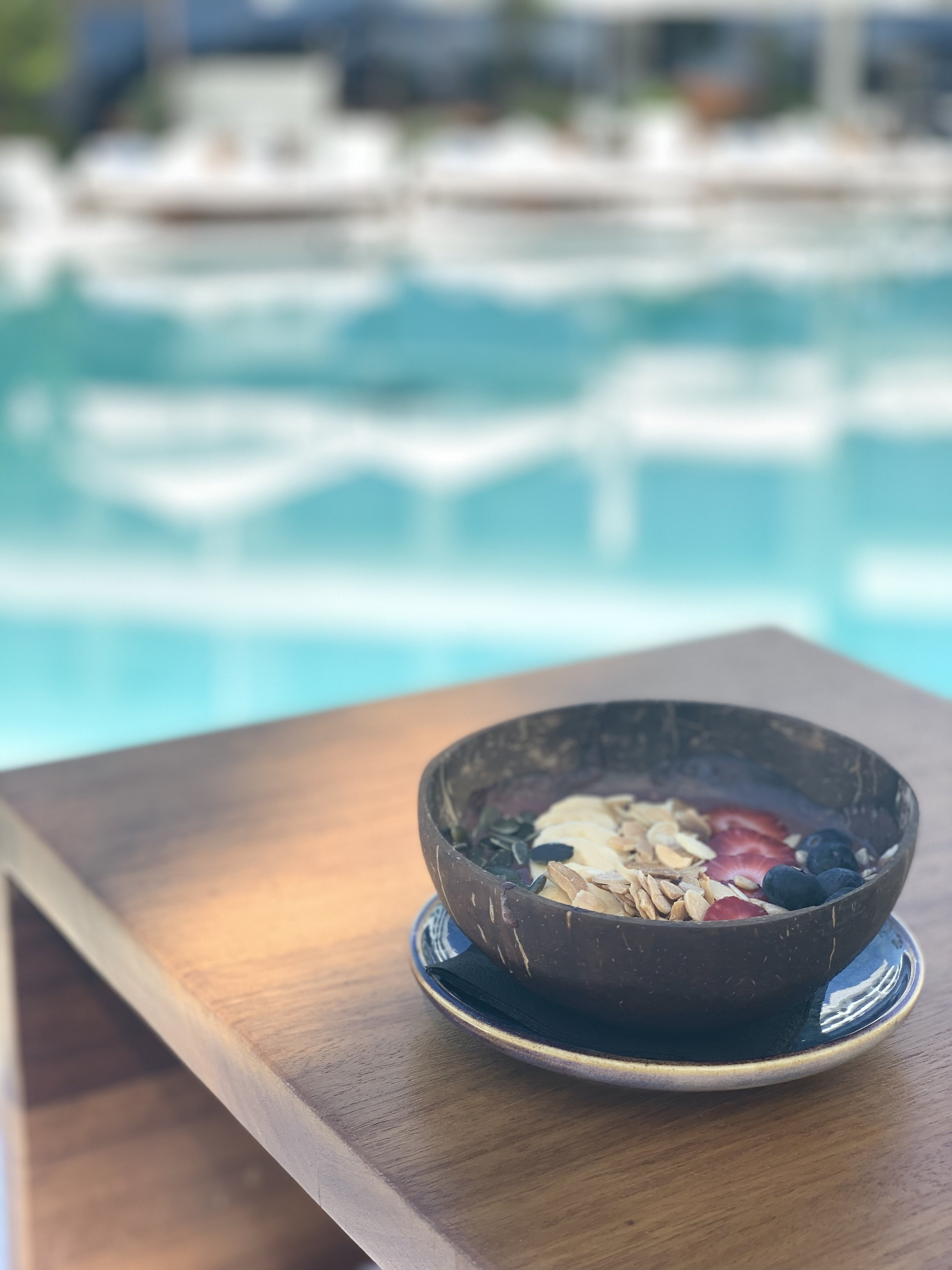 Acai Bowl Ibiza Bay Nobu Hotel Ibiza | Vanilla Rose Weddings Oxford Wedding Planner