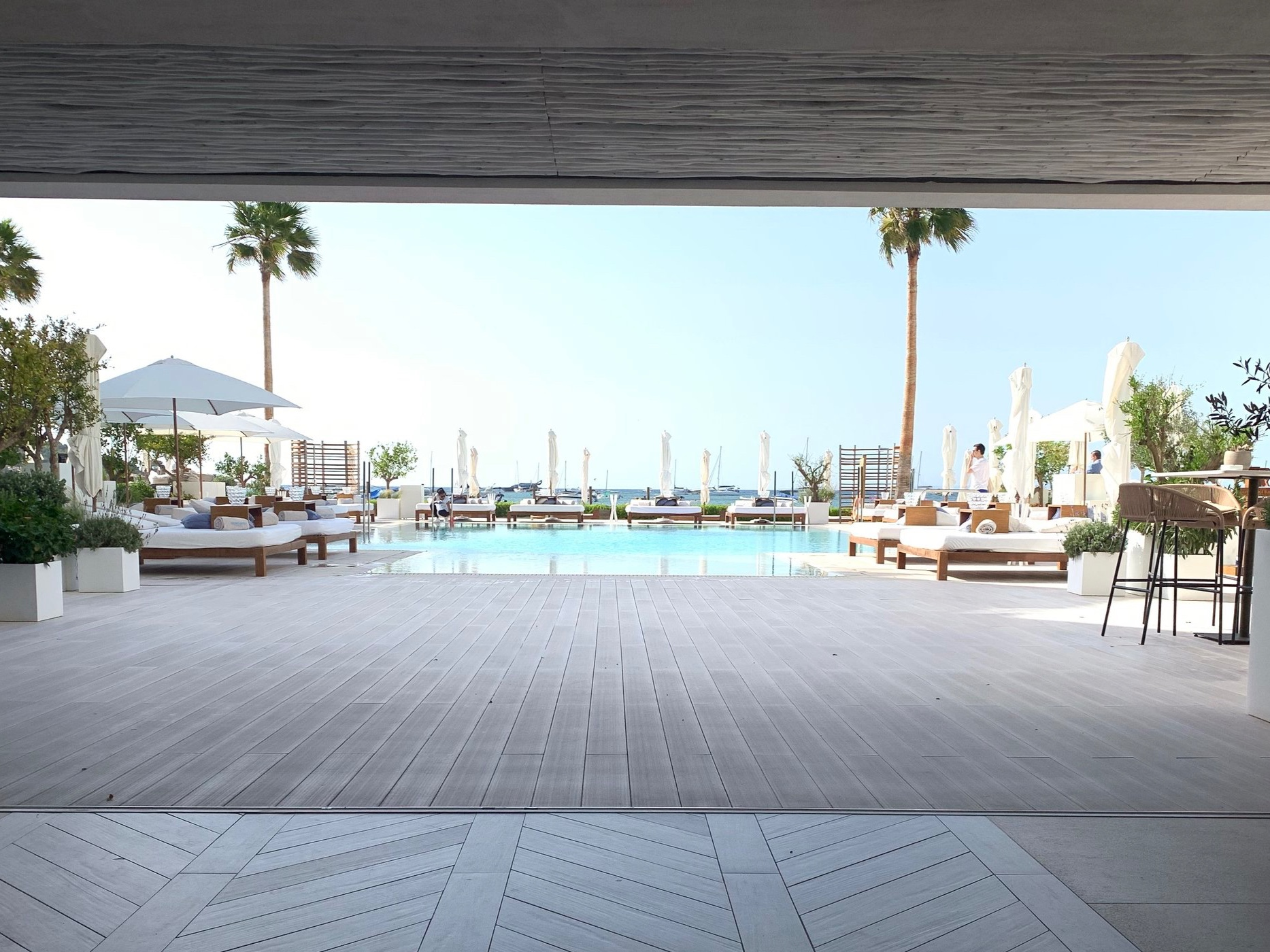 Ibiza Bay Nobu Hotel Ibiza | Vanilla Rose Weddings Oxford Wedding Planner