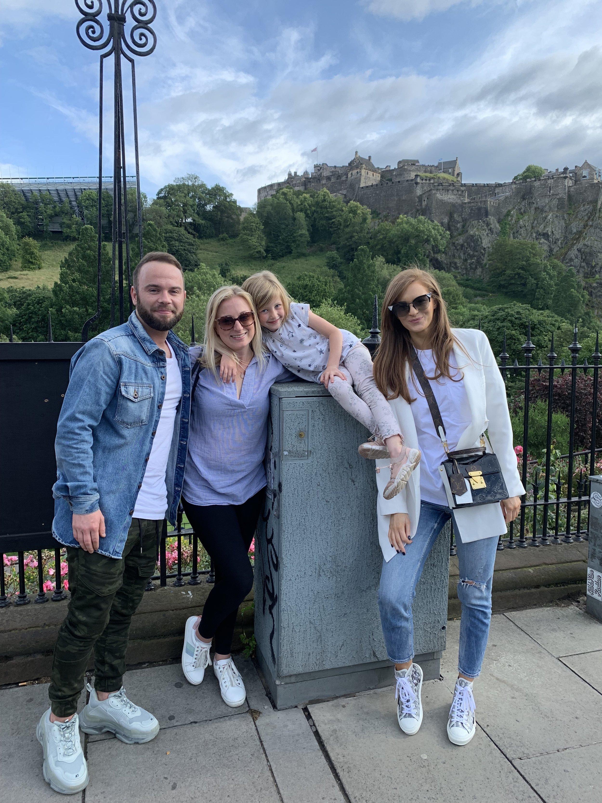 Edinburgh Castle Scotland   Vanilla Rose Weddings Monthly Round Up