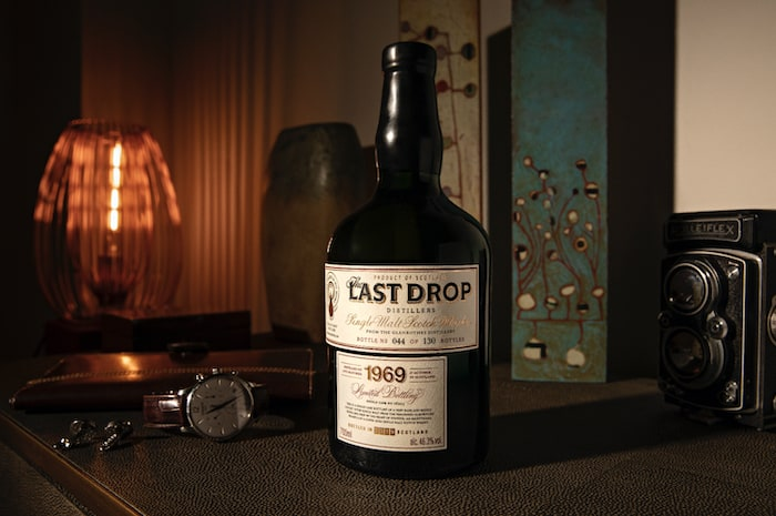 Last Drop 1969 Glenrothes Single Malt Scotch Whisky (image via Last Drop Distillers)