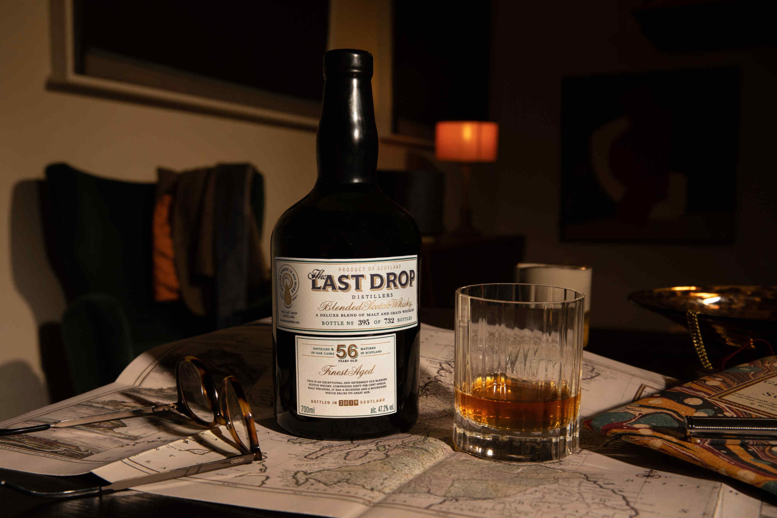 The 56 Year Old Blended Scotch Whisky is The Last Drop Distillers' 16th release