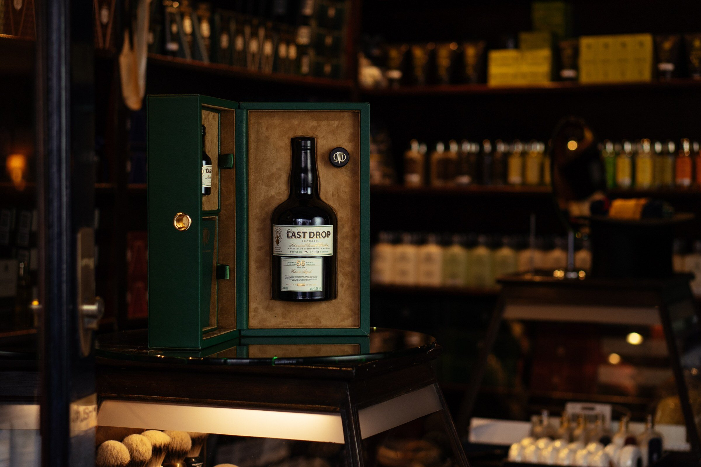 Truefitt & Hill partners with The Last Drop Distillers