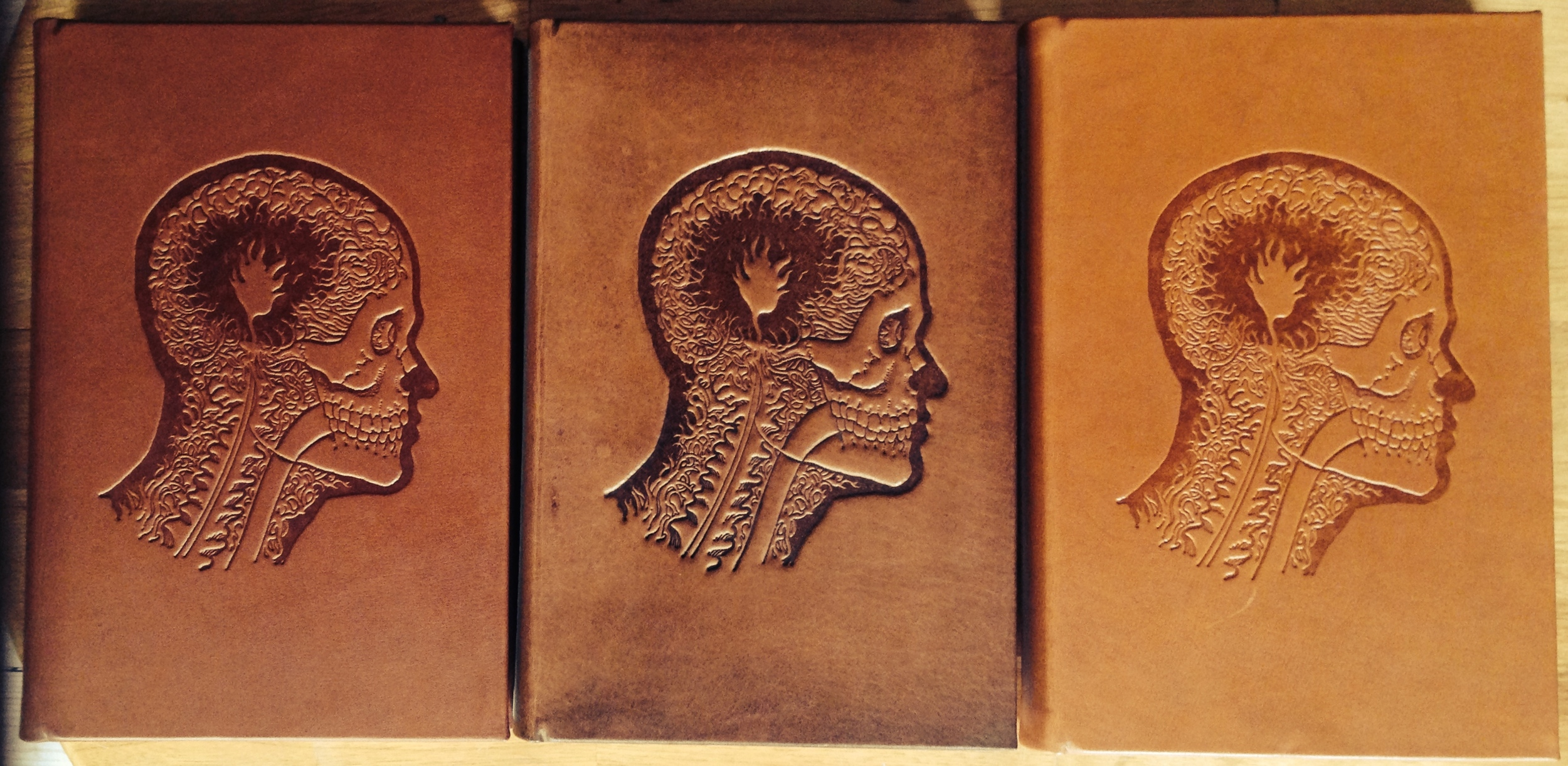 Calfskin bound hardcover variants, CFCL first edition