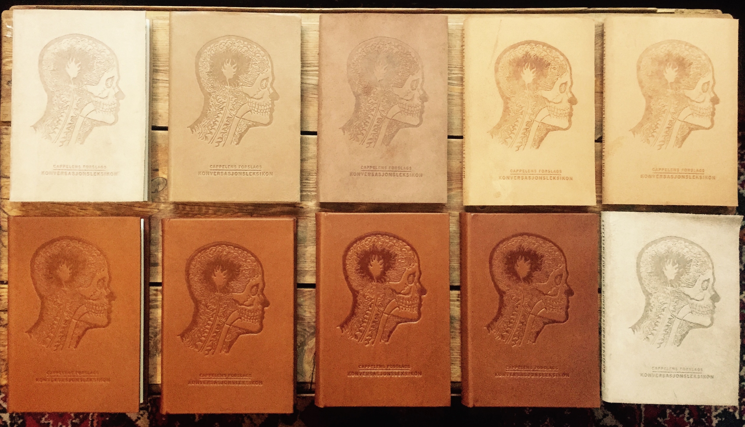 Calfskin bound hardcover variants, CFCL 4th edition