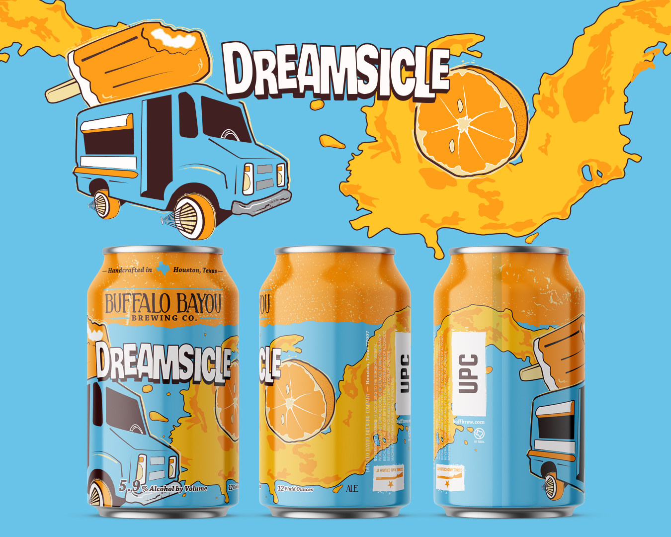 Dreamsicle Can Design
