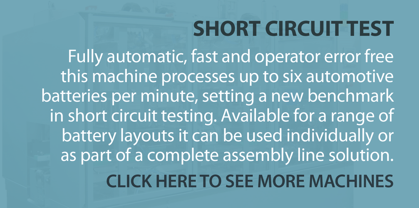 SHORT CIRCUIT TEST FROM ASSEMBLY EQUIPMENT