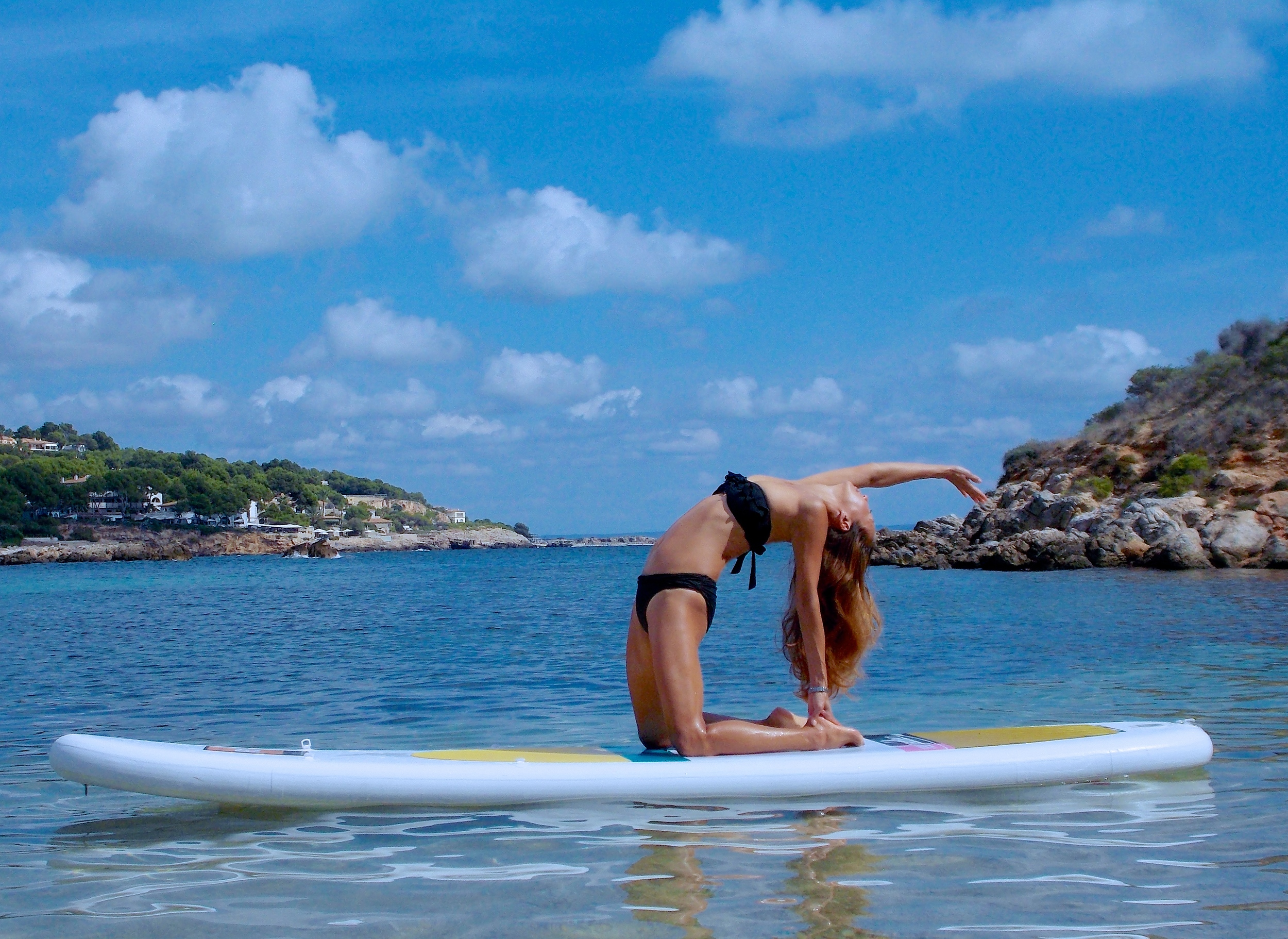 Do a little yoga, or stand-up-paddle, or go for a run and swim in the sea . . . move your body the way you want. It's your retreat!