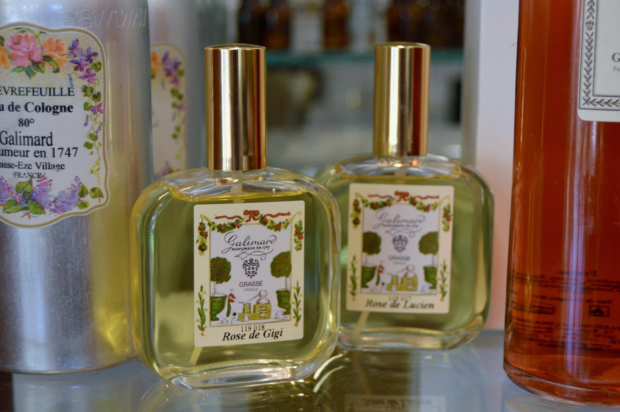 Our personal perfumes: Rose de Gigi and Rose de Lucien