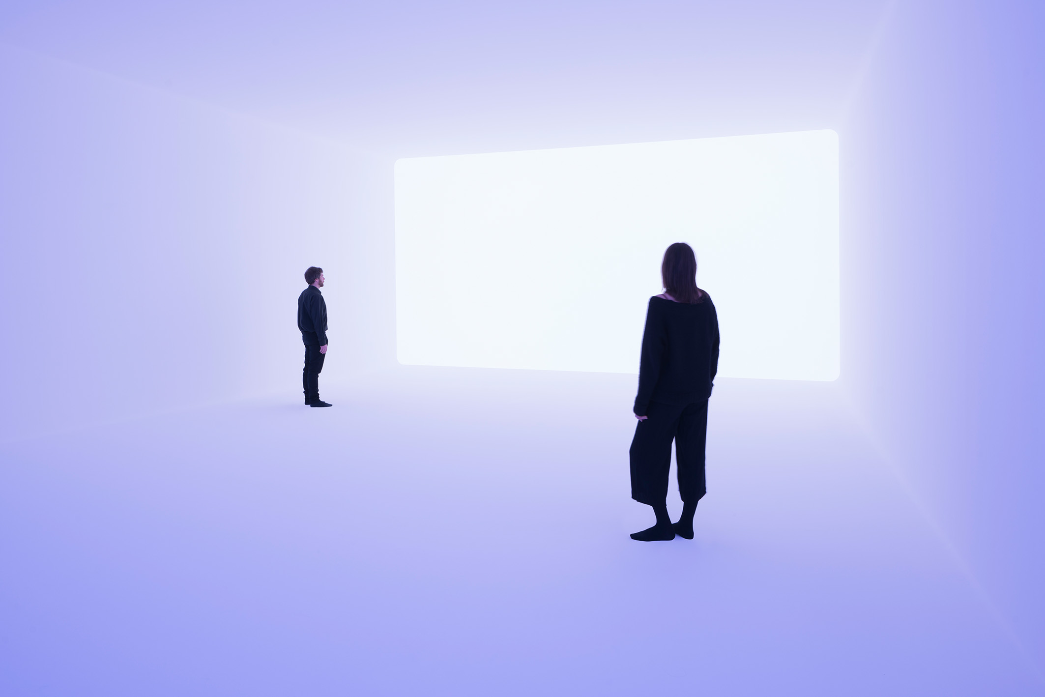 James Turrell, Ganzfeld Aural, 2018; © Jewish Museum Berlin, gift of Dieter and Si Rosenkranz, photo: Florian Holzherr