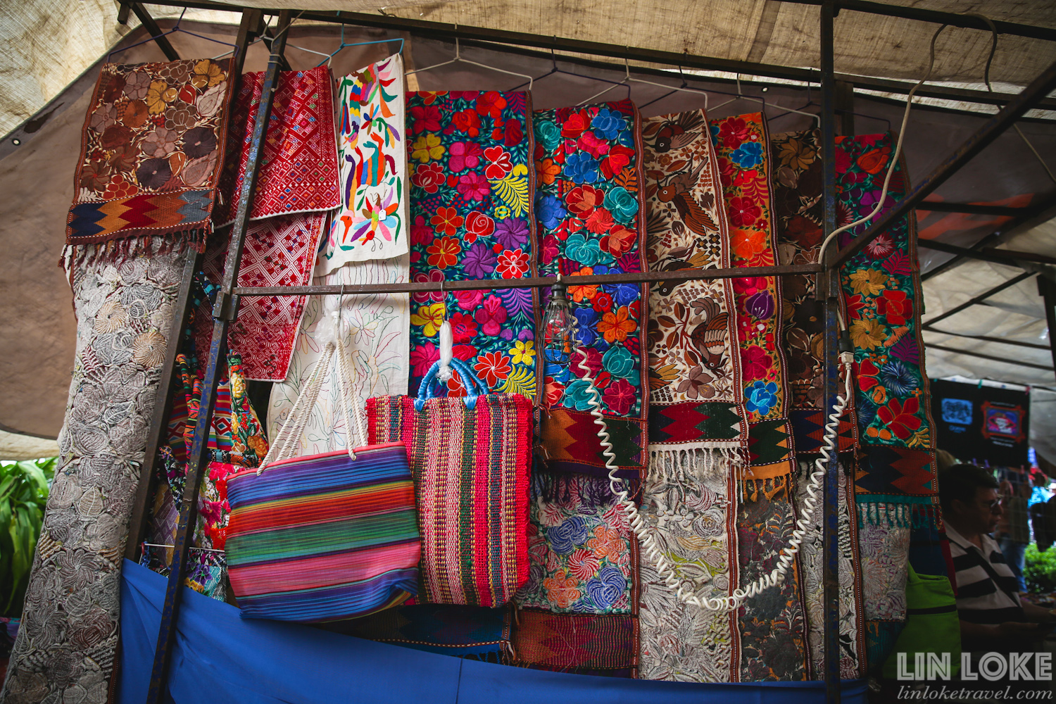 Mexican textiles and bags