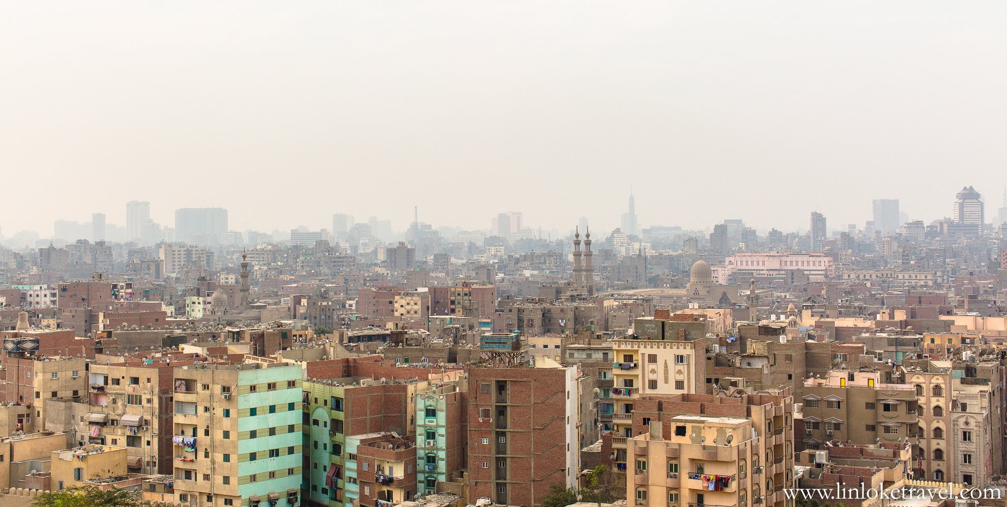 Cairo's dusty and endless cityscape.