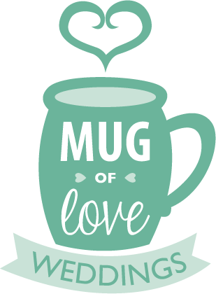 Mug of love weddings logo