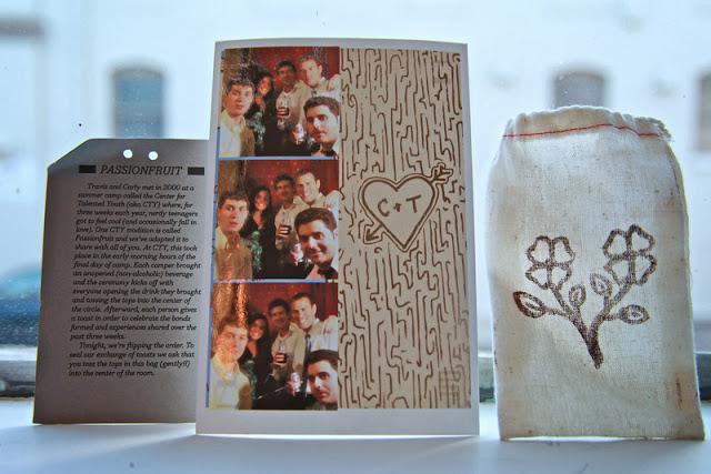 A Pocket Novel Design photo keepsake and pouch